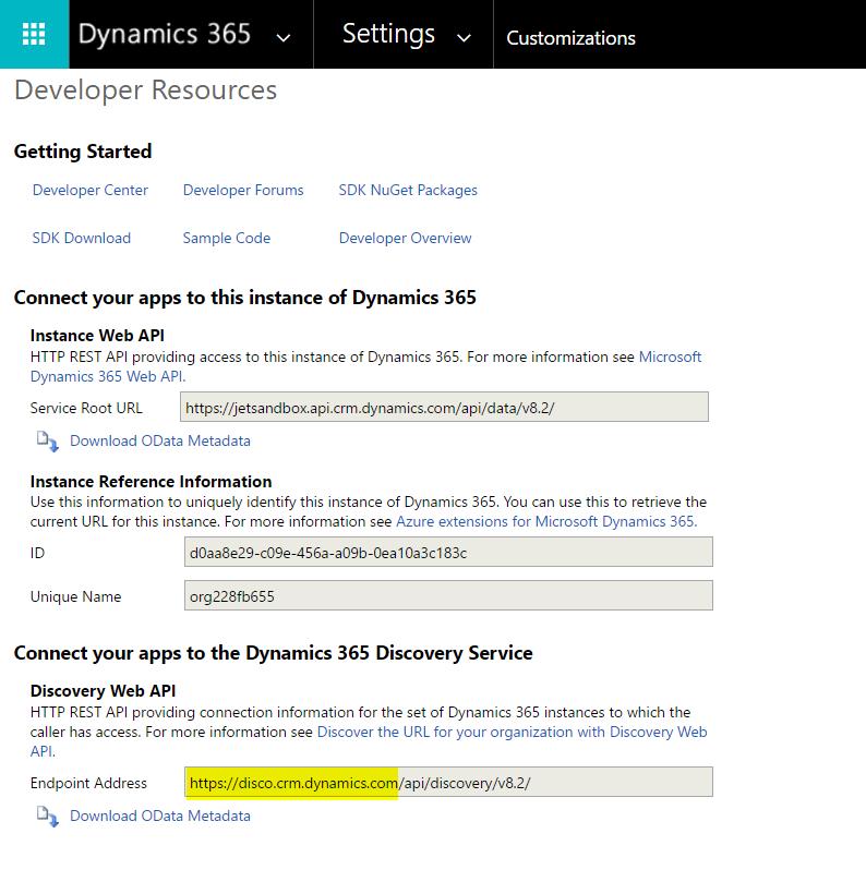 Dynamics 365 - Custom Data Source Configuration – Support Topics