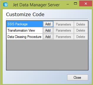 Using Customized Code in the Jet Data Manager – Support Topics