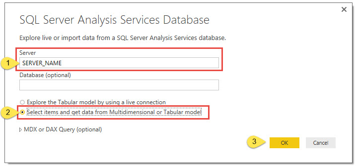 Connecting Power BI to OLAP Cubes – Support Topics
