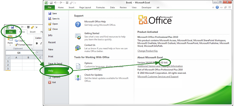 How to Find Whether Office Is Installed in 32 or 64 bit ...