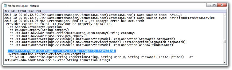 JRDS Error - An error has occurred processing your request