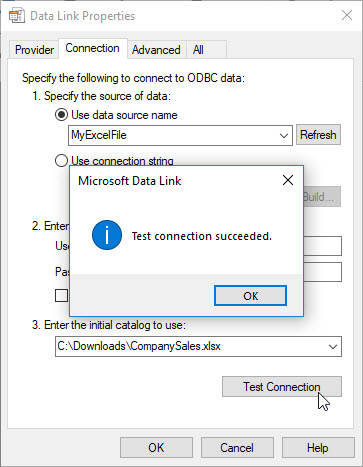Using an Excel workbook as a Jet data source – Support Topics