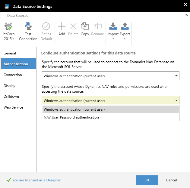 Dynamics NAV Security with Jet Reports – Support Topics