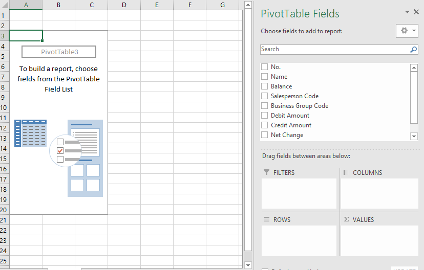 Create A Pivot Table From Jet Reports Support Topics