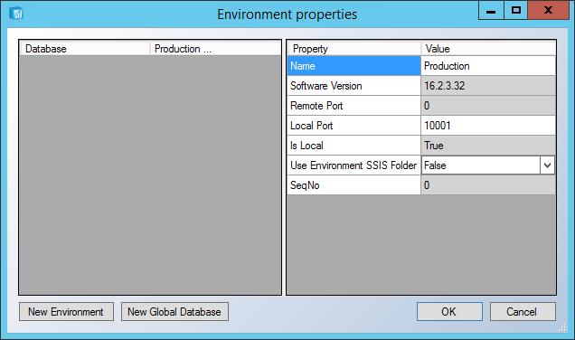 Configure Multiple Environments Using the Development